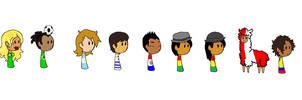 SAatW: latinos, humon style