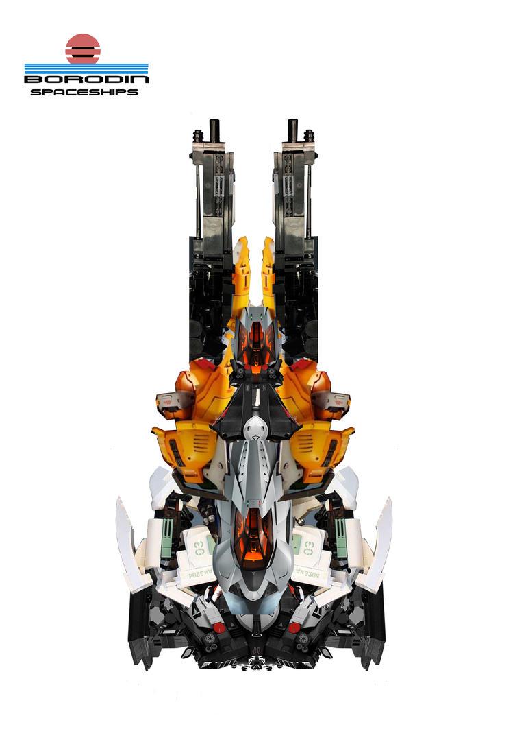 photobash spaceship 5 by DarrynGrymm