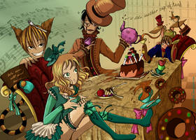 Mad Tea Party by Satine-Black