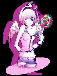 Contest Prize - Lollipop by Satine-Black