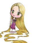 Tangled - Rapunzel Chibi