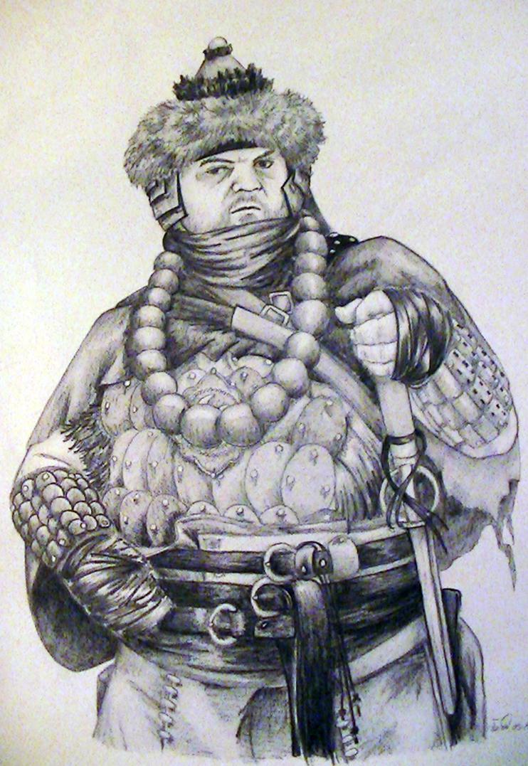 Big Ghengis by talis13