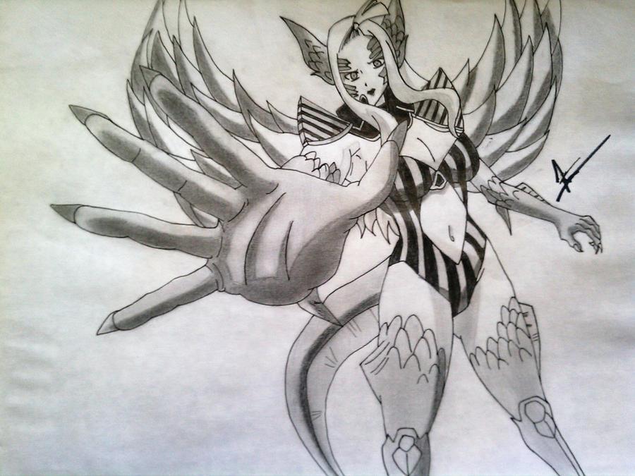 Demon+Mirajane Mirajane Demon Halphas by Wrath607 on deviantART