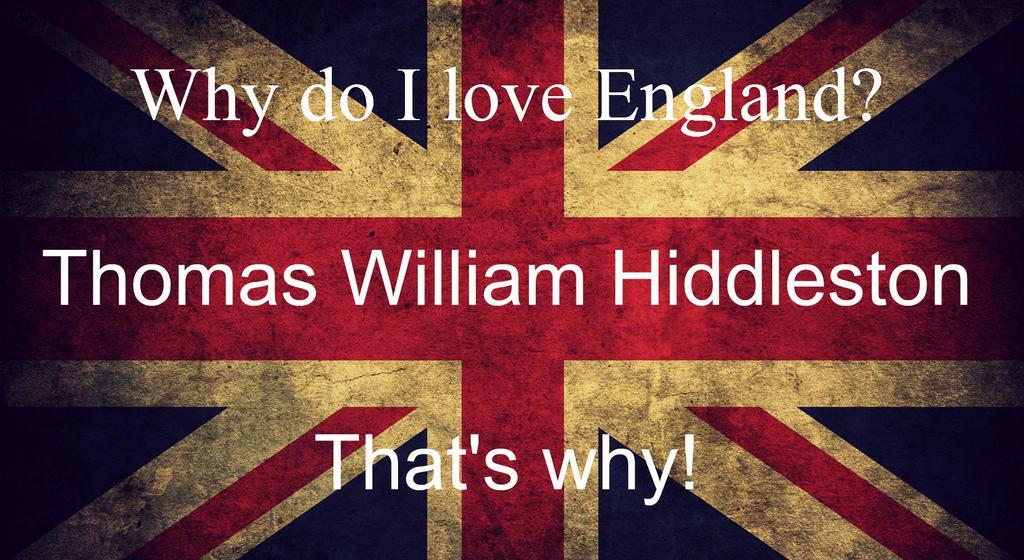 Thomas William Hiddleston. That's why! by Katoporiani