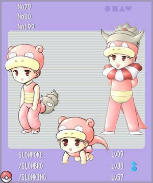 PKMN - Slowpoke Evolution