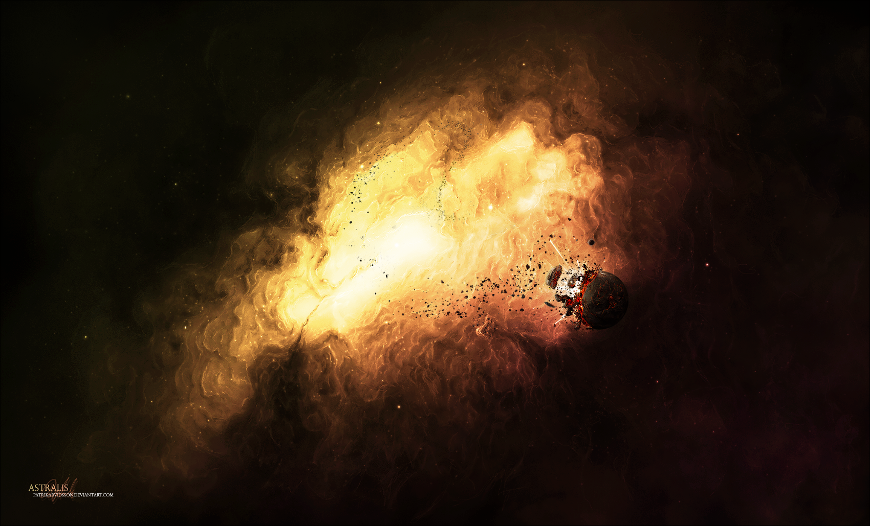 Astralis by patrikarvidsson