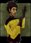 Lt. Commander Selek by SerceZGazety