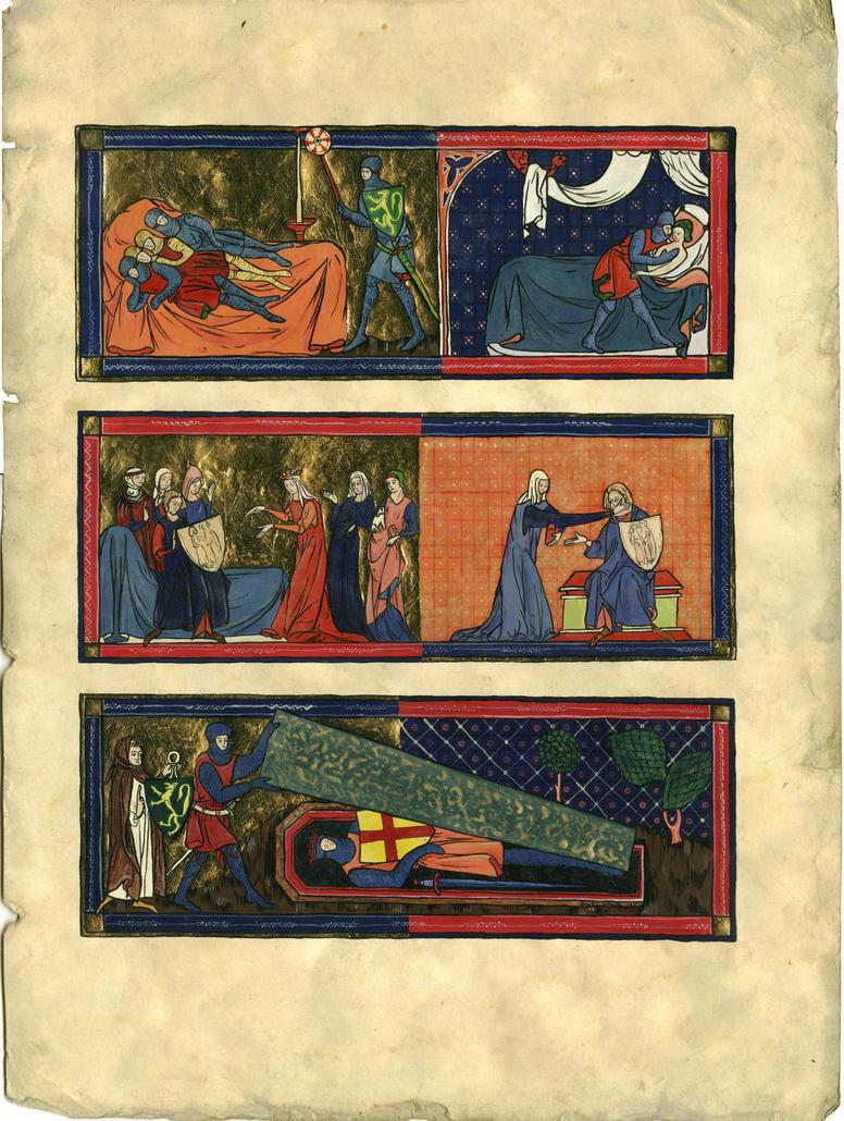 Book Illumination Artus Legend by Siobhan68