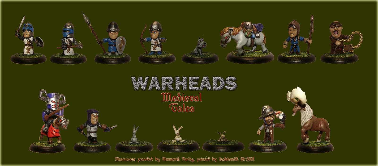 Warheads Miniature Commission by Siobhan68