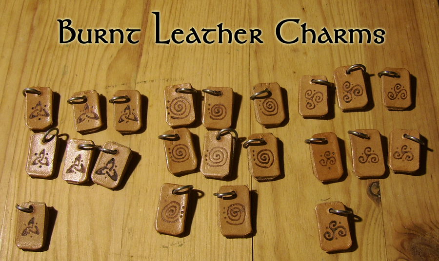 Burnt Leather Charms FOR SALE by Siobhan68