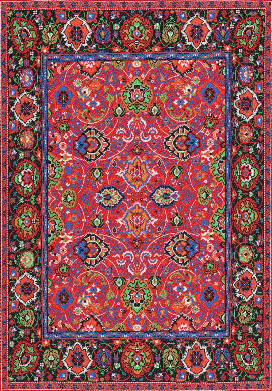 Turkish Carpet 7 By Siobhan68