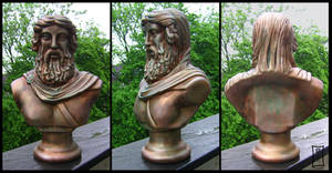 Platon Bust Bronzified