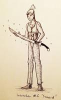 Inktober 06 Sword