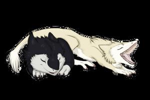 Sergal cubs by Sidgi