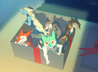 The box of fluffy ones by Sidgi