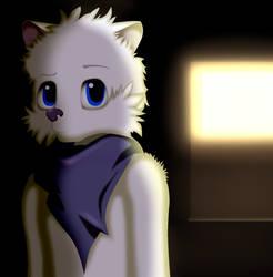 Hidden Arctic Fox.. Again by Angrymonkey2489