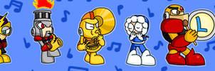Megaman Powered Up Band (2013) by Kristanni20X6