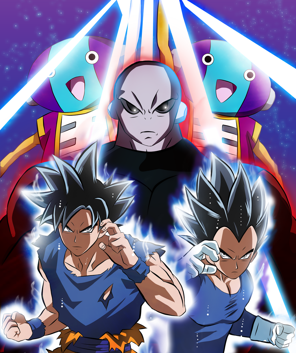 Dragon Ball Manga Tournament Of Power: Tournament Of Power By Bleuwing On