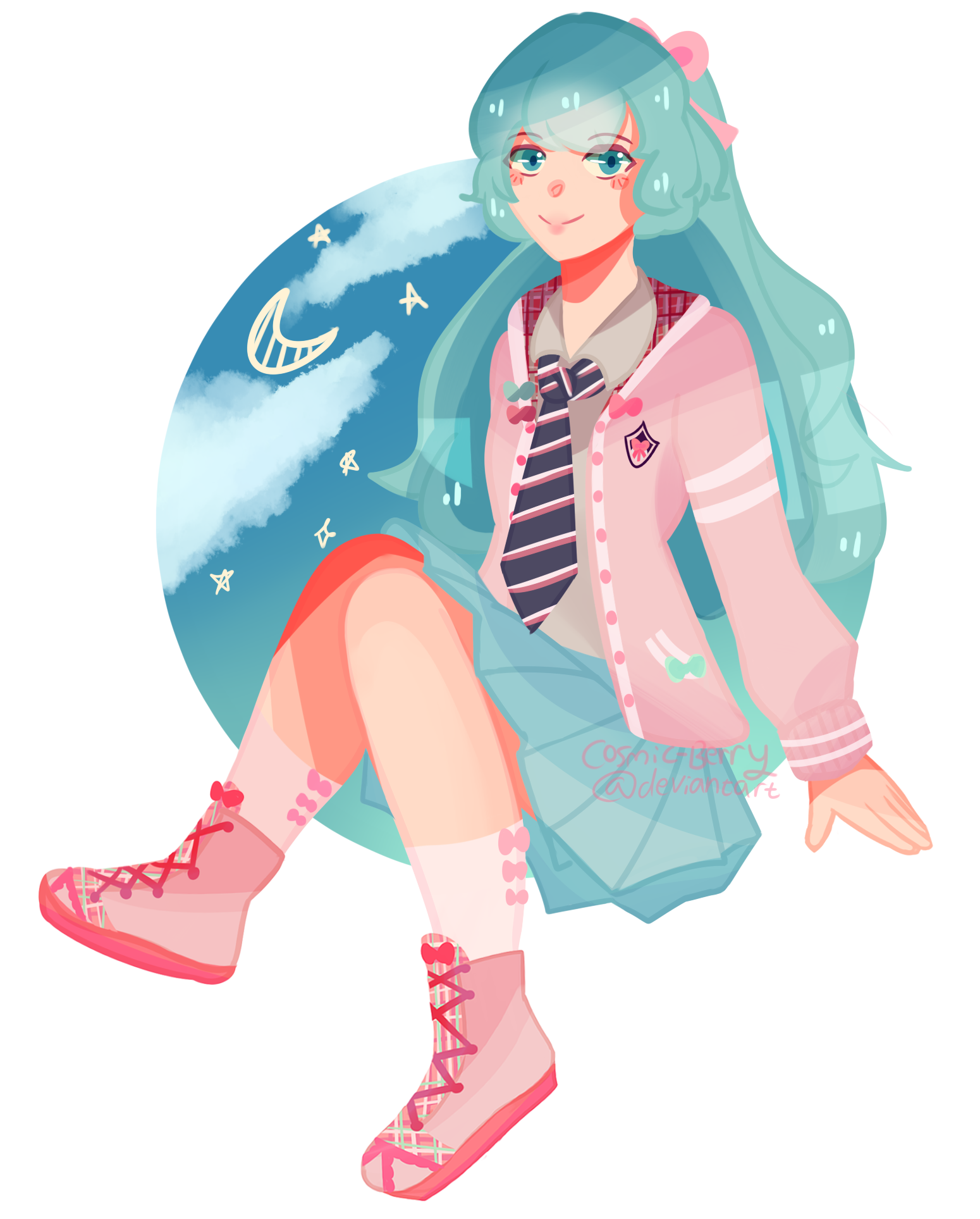 Miku by cosmic-berry