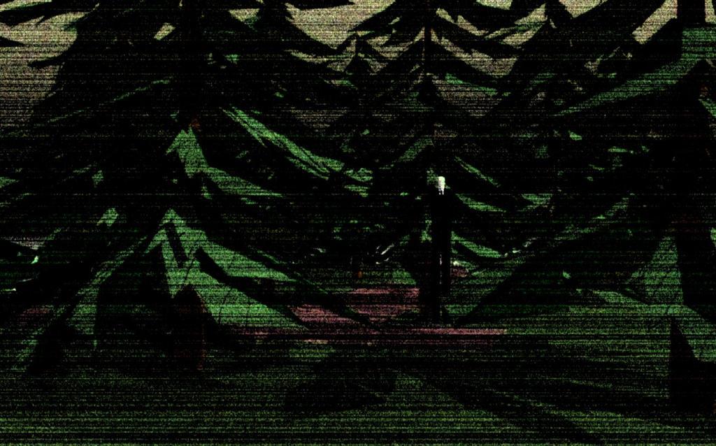 Slender Man - 2D...2d Slender Man Games