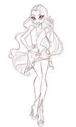 COM: Amura Sketch by BerrySplash