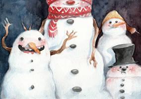 Snowman by ALEXAst