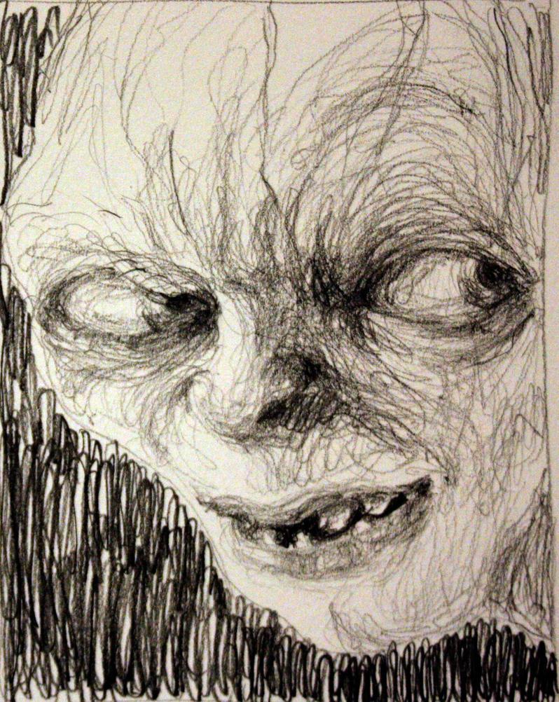 Smeagol/ Gollum by ALEXAst