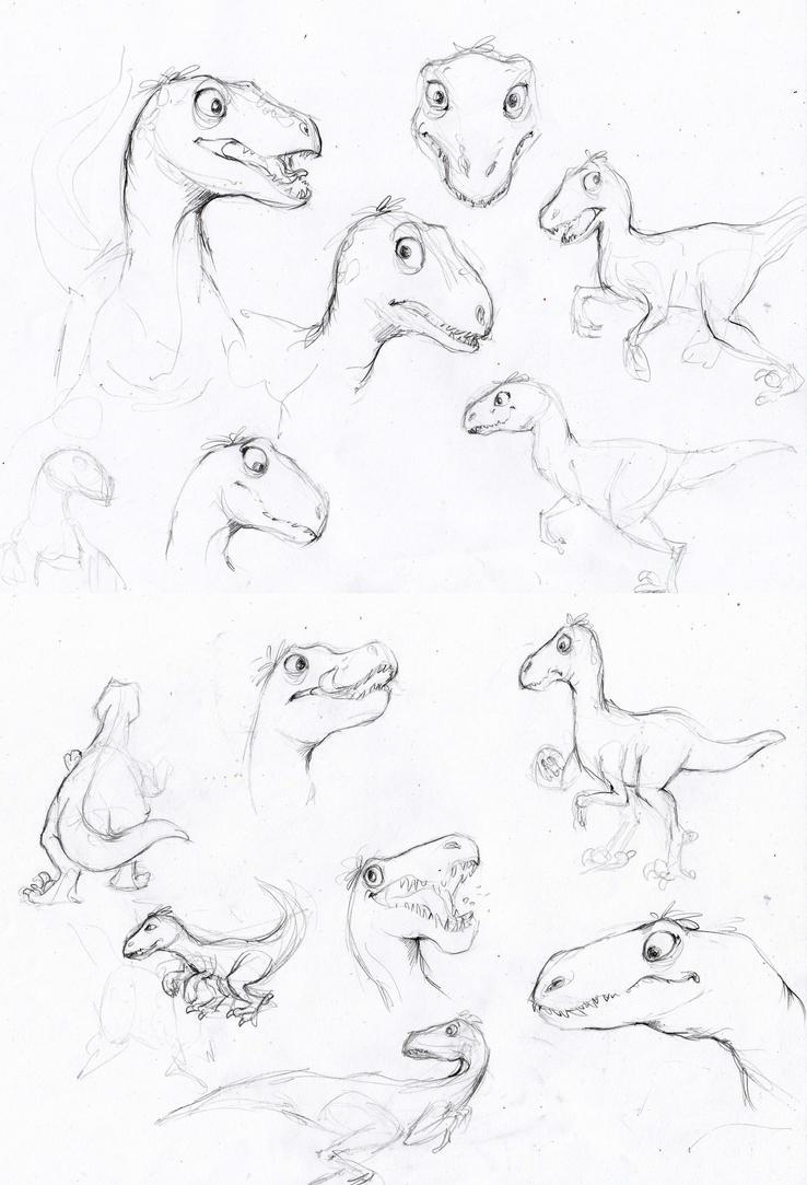 Dino studies by ALEXAst
