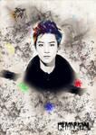 Exo Chanyeol Abstract