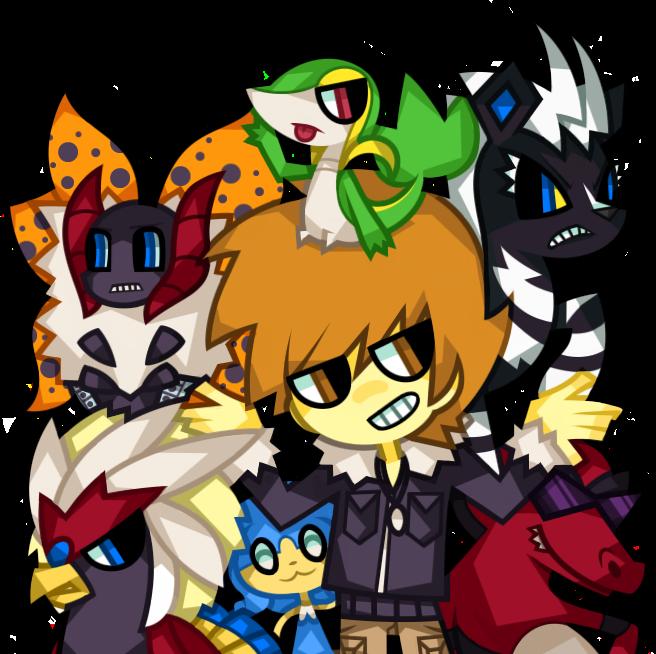 Green's team by nekozneko