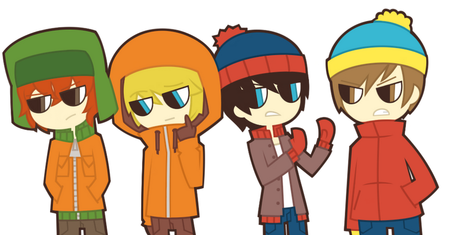 SOUTH PARK by nekozneko on DeviantArt