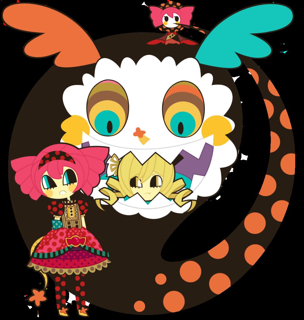 Madoka Magica - Charlotte and Mami Tomoe by nekozneko