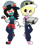 Latula Pyrope and Roxy Lalonde