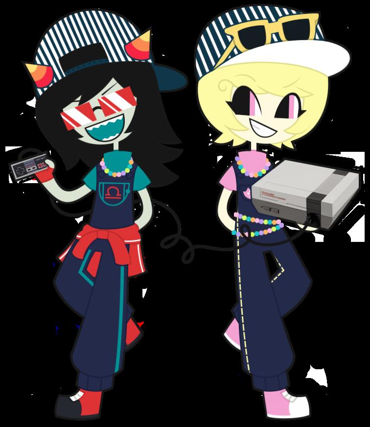 Latula Pyrope and Roxy Lalonde by nekozneko