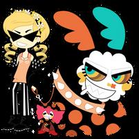 Charlotte and Mami Tomoe