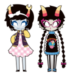 Aranea and Meenah