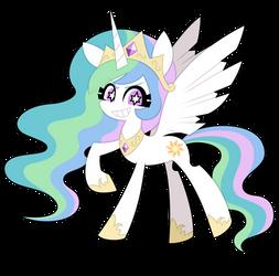 Princess Celestia by nekozneko