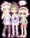 SDR2: Komaeda, Hinata and Nanami