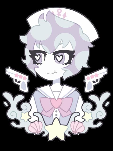 Pastel Sailor Scarlette Rhodes by nekozneko
