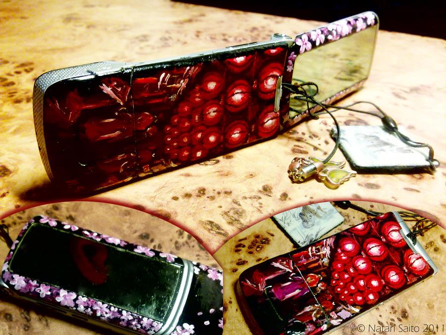 Styled telephone by natarisaito