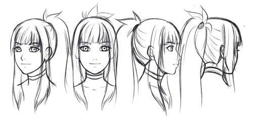 Amiko headshots doodle