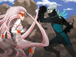 Mamoru fight collab