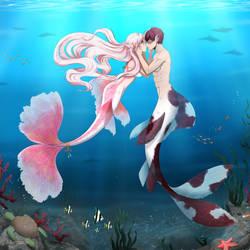 Sweet underwater love