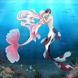 Sweet underwater love