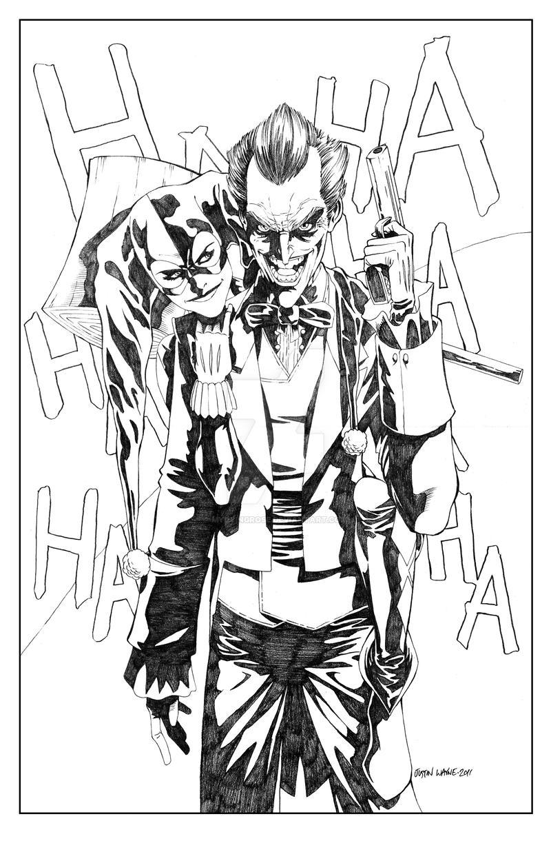 Joker And Harley Quinn By MyDyingRose On DeviantArt