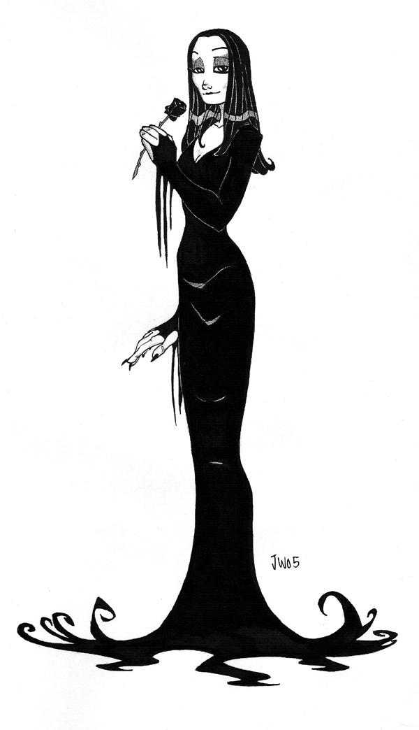 Gothic Beauty no.2 by MyDyingRose