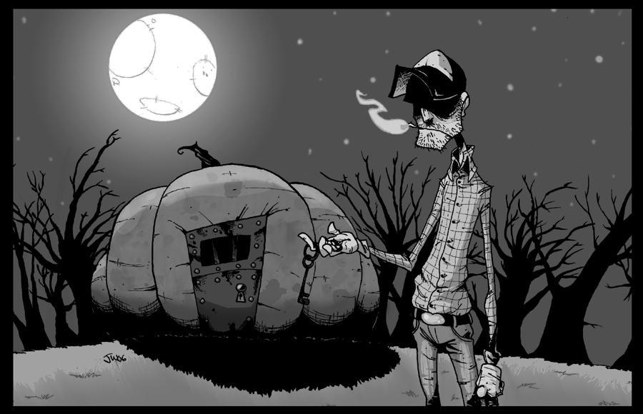 Peter Peter Pumpkin Eater by MyDyingRose