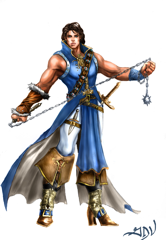 Richter Belmont by GreenStranger