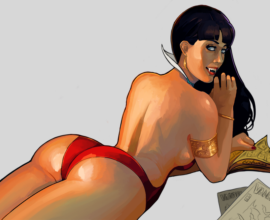 Vampirella by GreenStranger