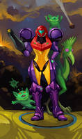 Super Metroid by GreenStranger